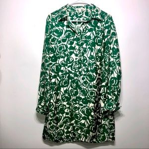 Banana Republic Silk Shift Dress Size Medium